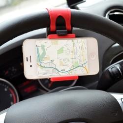 Support à téléphone pour volant de voiture