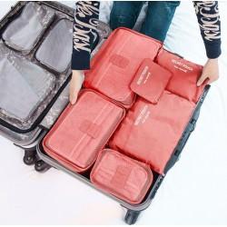 6 organisateurs de valises
