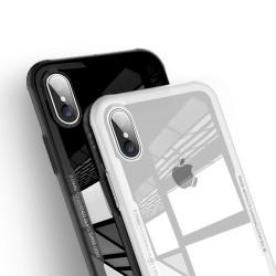 Étui en verre trempé pour iPhone