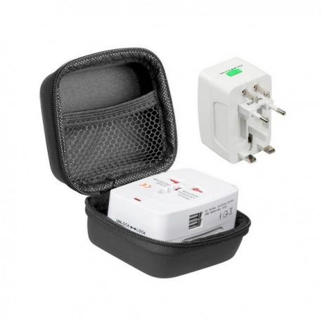 Adaptateur de voyage avec chargeur USB