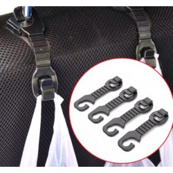 Crochets pour siège de voiture