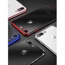 Étui en silicone souple pour iPhone