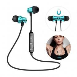 Écouteurs sans fil avec embouts magnétiques