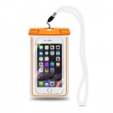 Pochette imperméable protectrice pour téléphone