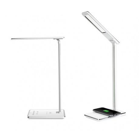 Lampe et station de chargement sans fil