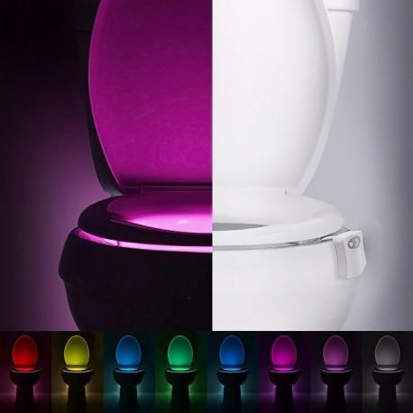 Lumière DEL pour siège de toilettes