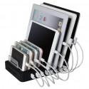 Station de chargement à 8 ports USB