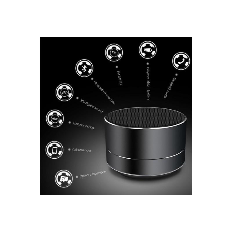 mini haut parleur sans fil. Black Bedroom Furniture Sets. Home Design Ideas