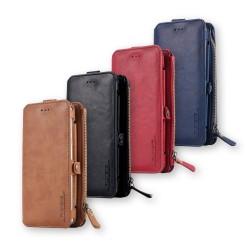 Étui et portefeuille en cuir deluxe pour téléphone