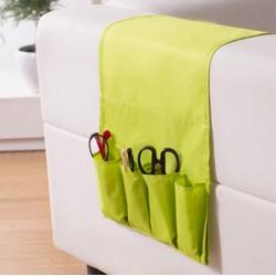 Rangement pour divan avec pochettes