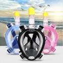 Masque de plongée avec tuba